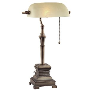 Bankers lamp replacement shade wayfair malone 19 banker lamp mozeypictures Choice Image
