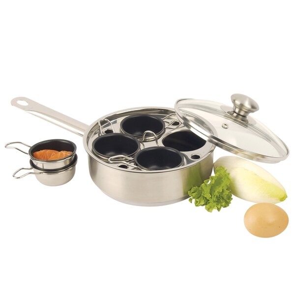 Resto 4 Cup Egg Poacher by Demeyere