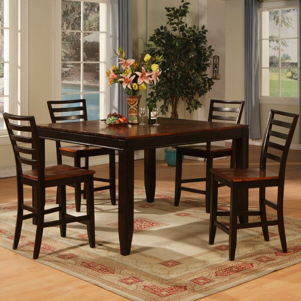 Counter Height Extendable Dining Table by Wildon Home®