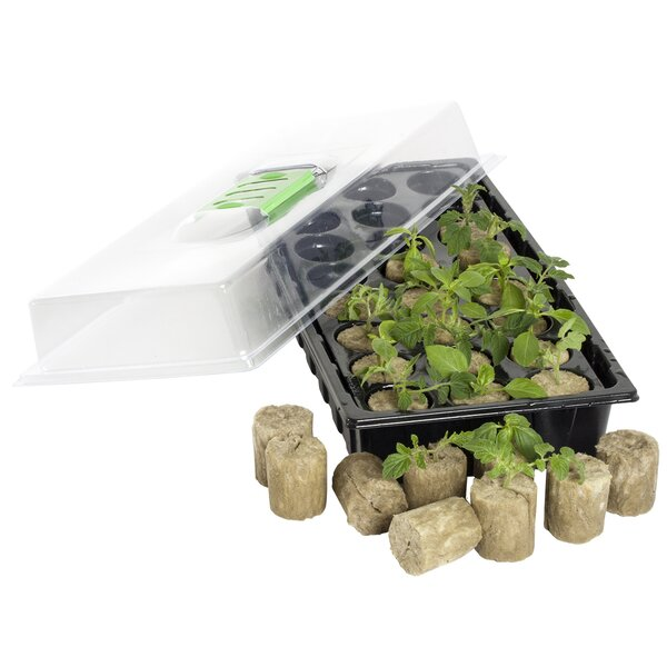 Jump Start 24 Macro Plug Mini Germination Station by Hydrofarm
