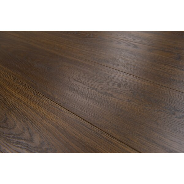 Lucerne 7 x 48 x 12mm Oak Laminate Flooring in Brown by Branton Flooring Collection