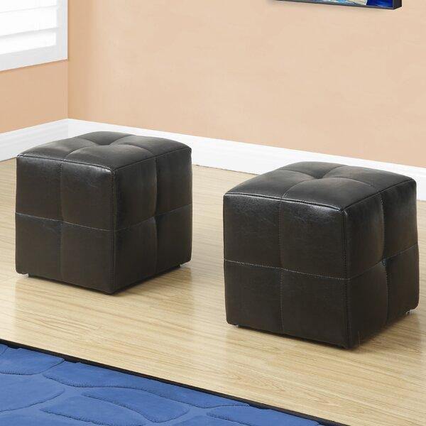 Juvenvile Cube Ottoman by Monarch Specialties Inc.