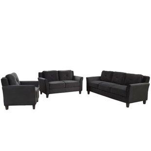Dorry 3 Piece Living Room Set by Red Barrel Studio®