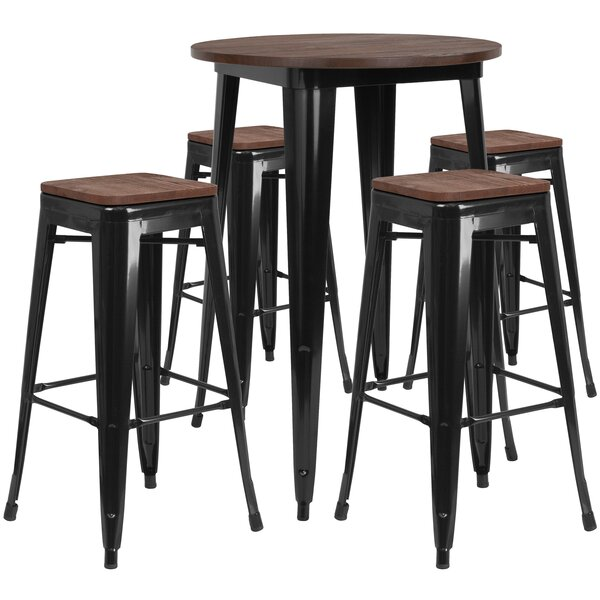 Pride 5 Piece Pub Table Set by Williston Forge