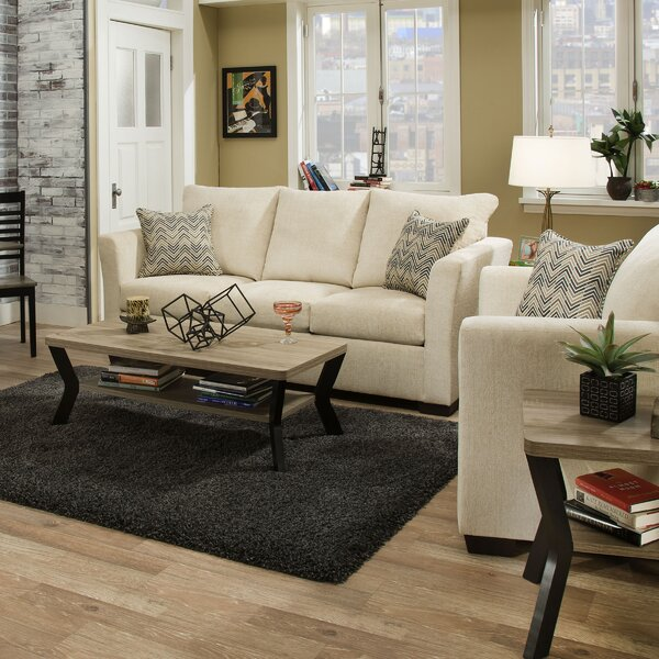 Chestnut Solid Sleeper Configurable Living Room Set by Winston Porter