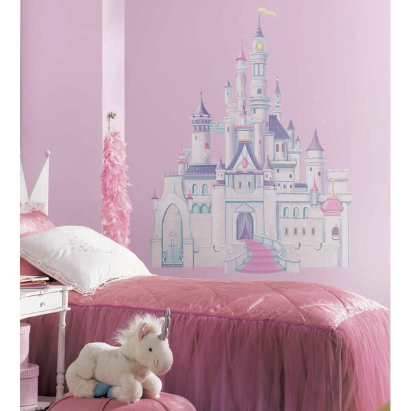 Disney Cinderella Princess Castle Cutout Wall Decal by Wallhogs