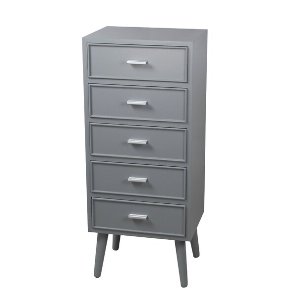 Savoy 5 Drawer Accent Chest by George Oliver