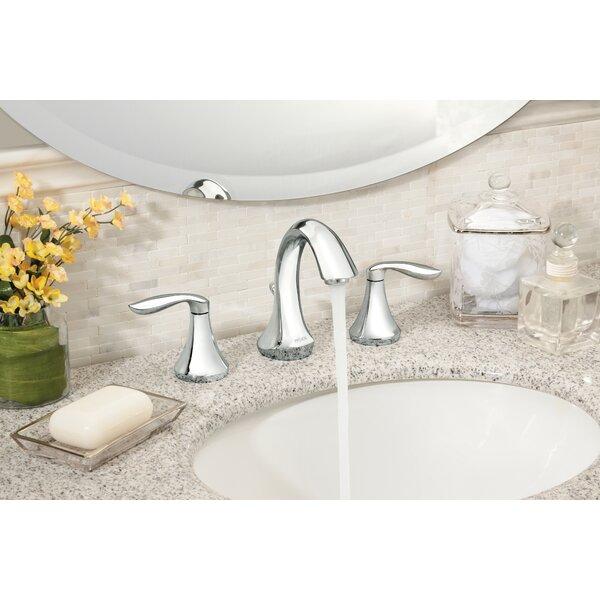 Eva Widespread Bathroom Faucet by Moen