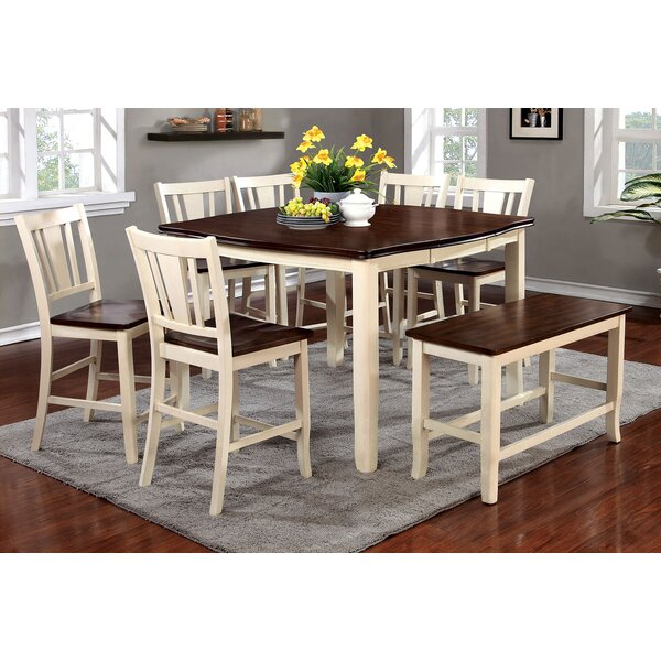 Balfor Counter Height Dining Table by Alcott Hill Alcott Hill