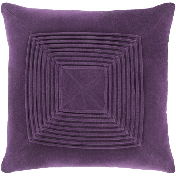 Wilfredo Textured Cotton Pillow Cover by Winston Porter