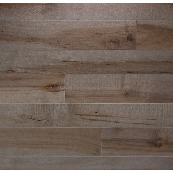 Character 4 Solid Maple Hardwood Flooring in Onyx by Somerset Floors