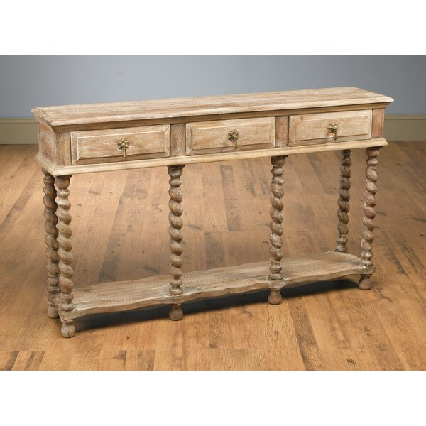 Whitlam Console Table by Bloomsbury Market Bloomsbury Market