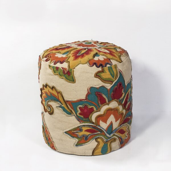 Bobby Jones Pouf by Alcott Hill