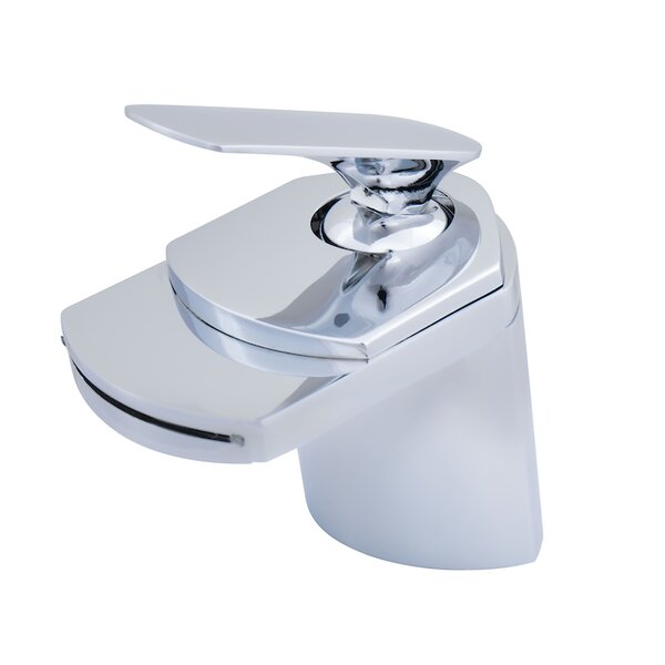 Wave Single Hole Bathroom Faucet by Novatto