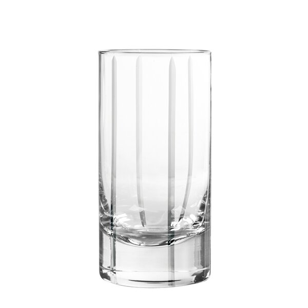 Trend Highball Glass (Set of 4) by Qualia Glass