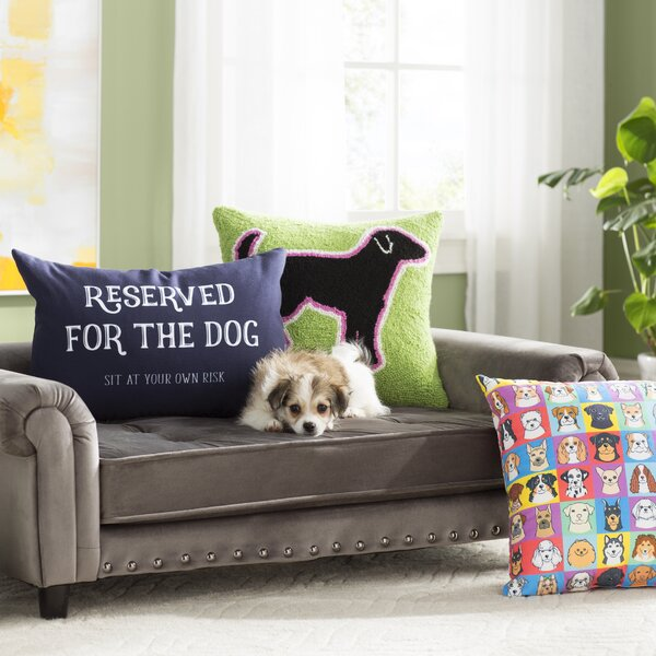 Constance Dog Sofa with Cushion by Archie & Oscar