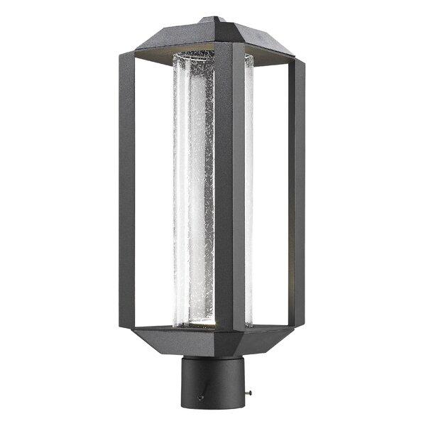 Spiro 1-Light LED Lantern Head by Latitude Run