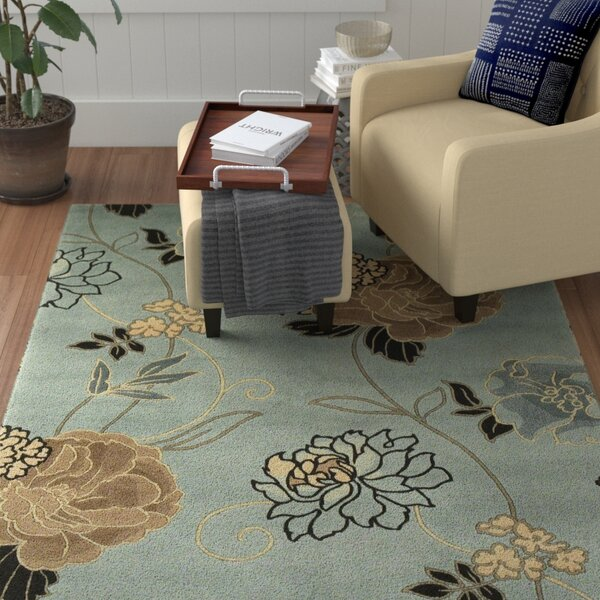 Las Cazuela Paradise Floral Novelty Rug by Red Barrel Studio
