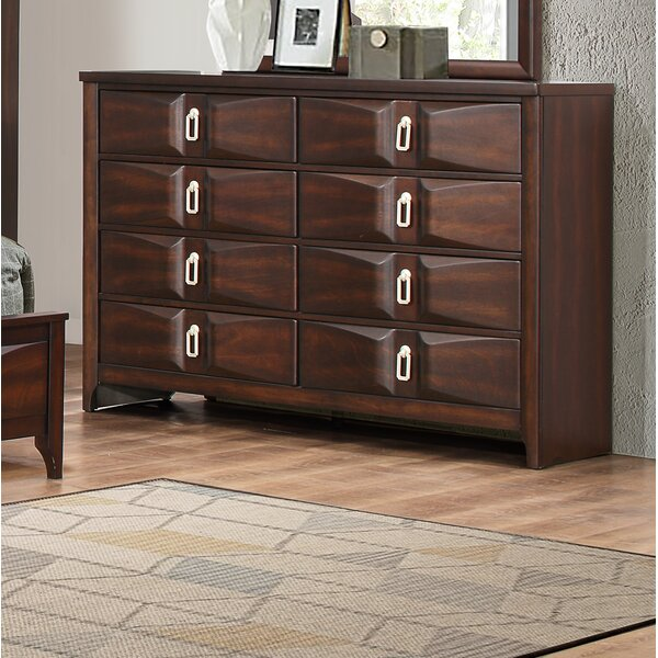 Anmoore 8 Drawer Double Dresser by World Menagerie