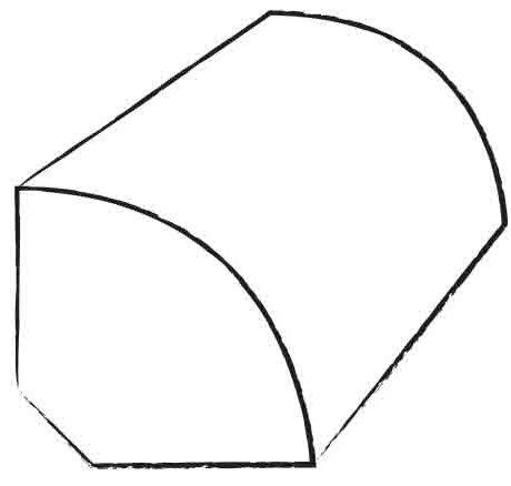 0.31 x 0.62 x 94 Quarter Round L in Symbol by Shaw Floors