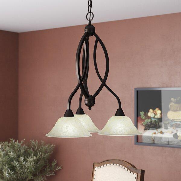 Blankenship 3-Light Shaded Classic / Traditional Chandelier by Fleur De Lis Living Fleur De Lis Living