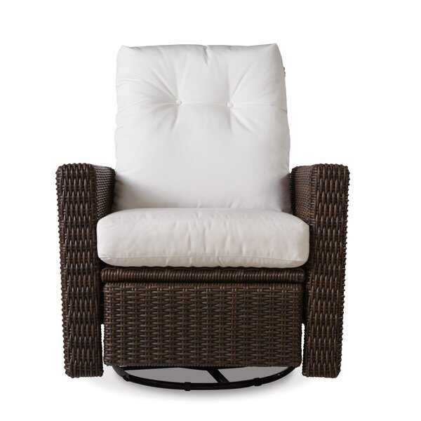 Mesa Patio Chair with Cushion by Lloyd Flanders