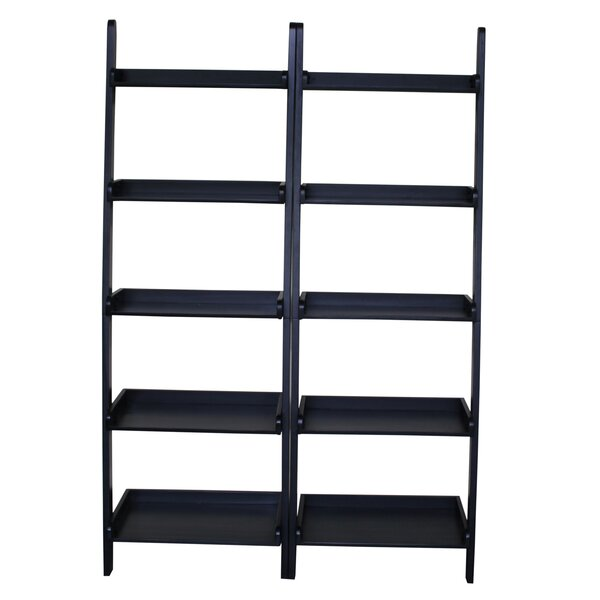 Ladder Bookcase (Set of 2) by International Concepts
