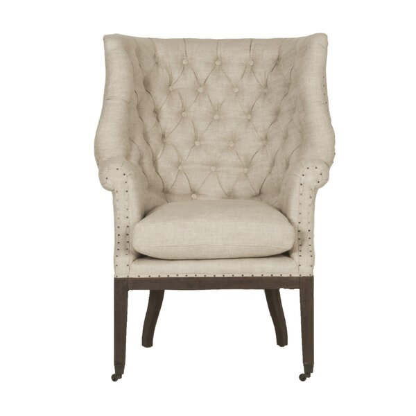 Labastide Wingback Chair by One Allium Way