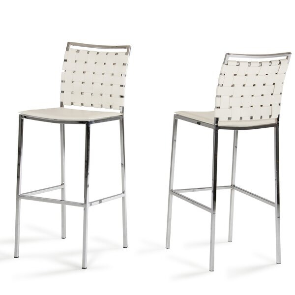 Burkett 30 Bar Stool (Set of 2) by Brayden Studio