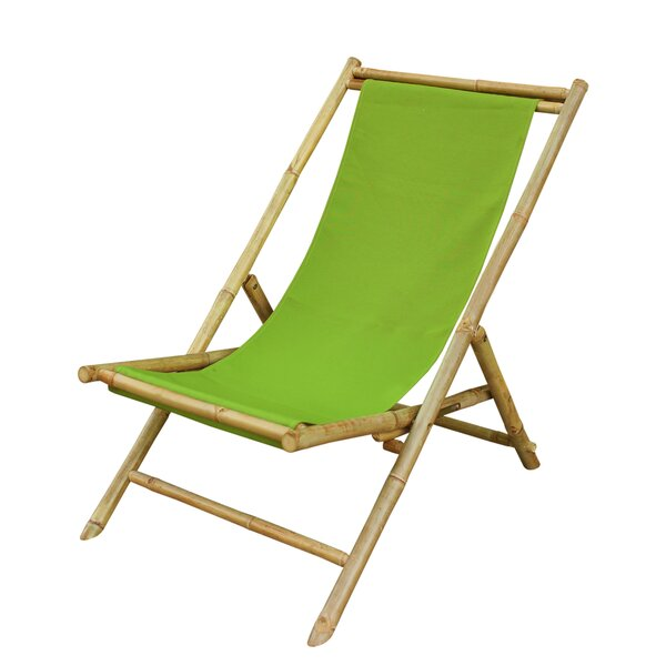 Relax Chaise Folding Beach Chair by ZEW Inc ZEW Inc