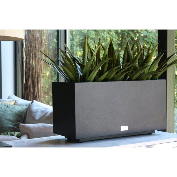 Metallic Series Long Galvanized Steel Planter Box by Veradek