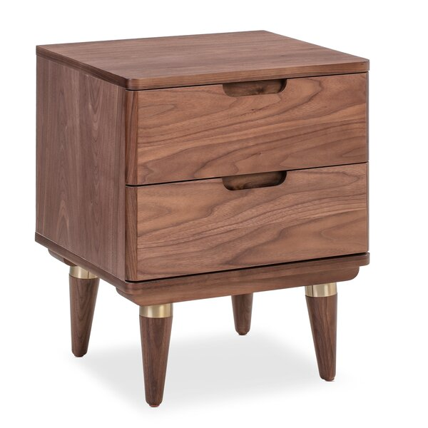 Frampton 2 Drawer Nightstand by Union Rustic Union Rustic