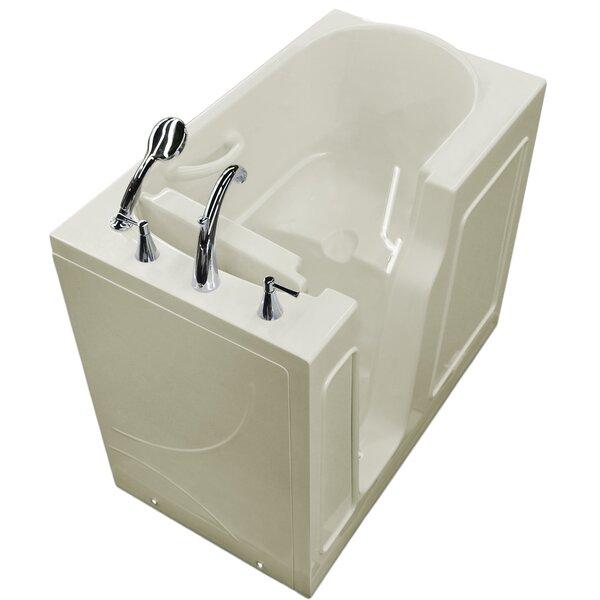 Prairie 46 x 26 Walk-In Bathtub by Therapeutic Tubs
