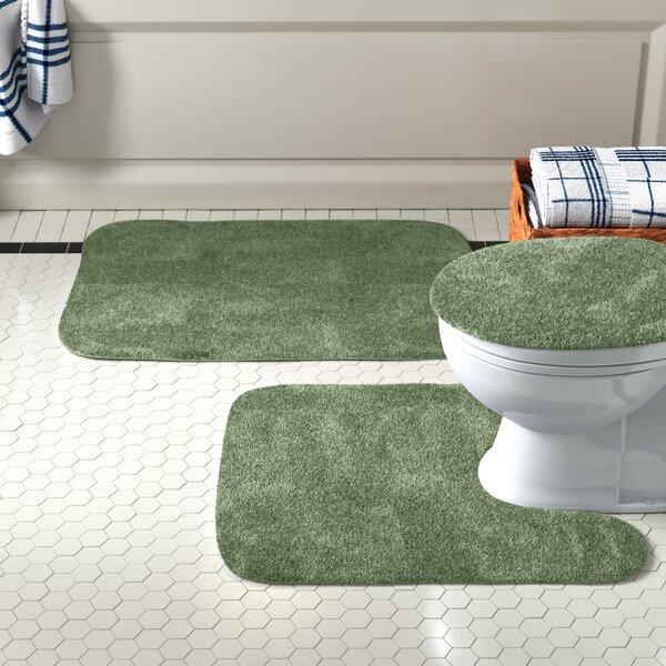 Soft Foam Mat Bathroom Rug Floor Covering Foam Pad Bath Mat Blue Flowers
