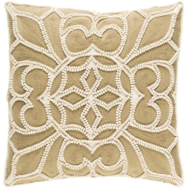Baltz Cotton Throw Pillow by House of Hampton