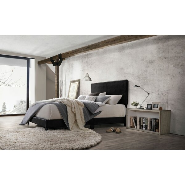 Corrigan Twin Upholstered Standard Bed by Ebern Designs