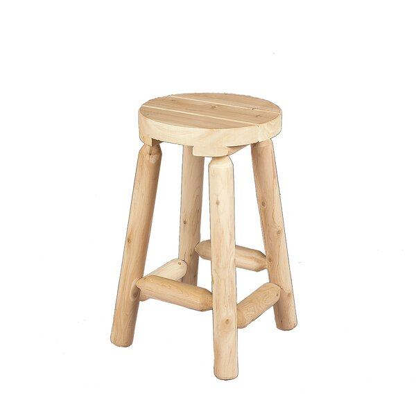 24 Bar Stool by Rustic Natural Cedar Furniture