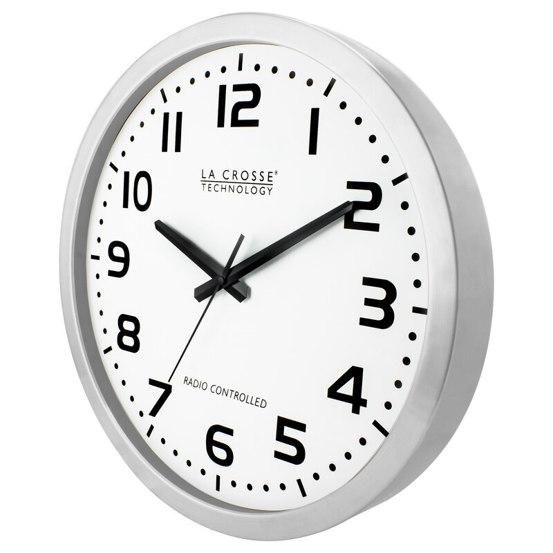 Symple Stuff Atomic 16 Wall Clock Wayfair