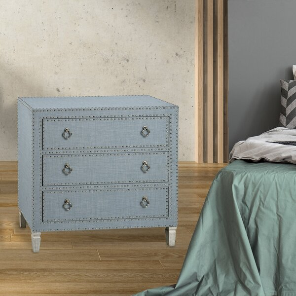 Hanks 3 Drawer Bachelor's Chest by Ophelia & Co.
