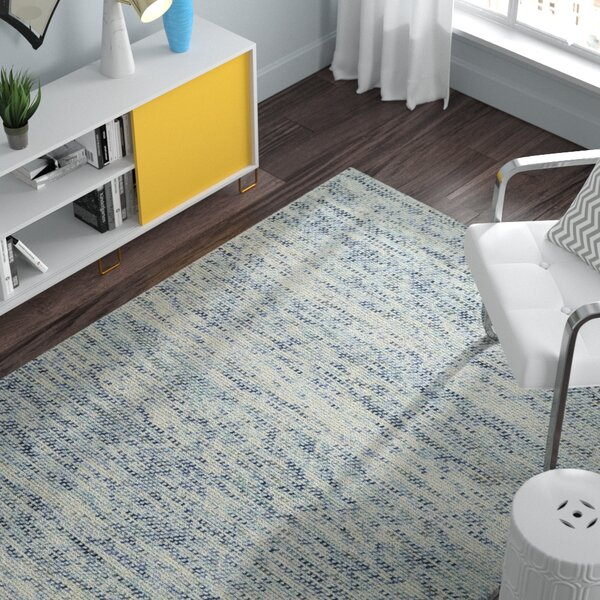 Chianna Handmade Blue Area Rug by Zipcode Design