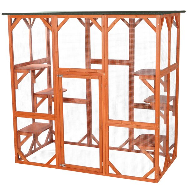 Lowery Cat Cage with Door by Tucker Murphy Pet