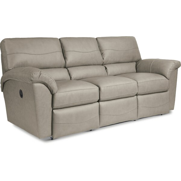 Reese Reclining 90 Inches Pillow Top Arms Sofa By La-Z-Boy