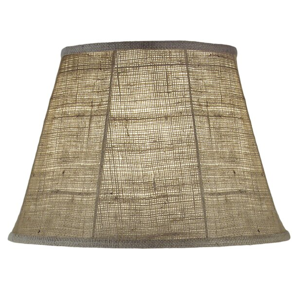 11 H Linen Empire Lamp Shade ( Spider ) in Natural