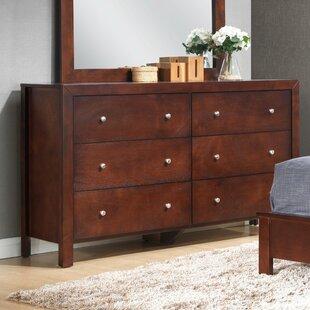 Carbon 6 Drawer Dresser