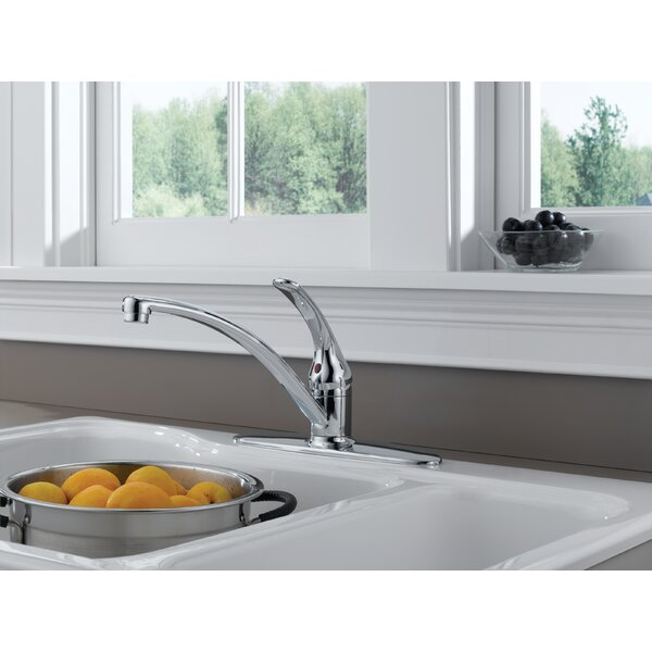 Foundations Core-B Single Handle Centerset Kitchen Faucet by Delta