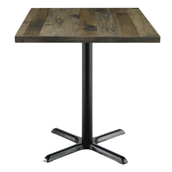 Urban Loft Square Cafe Table by KFI Seating