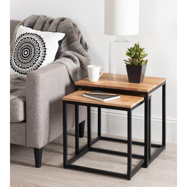 Teena 2 Piece Nesting Tables (Set Of 2) By Brayden Studio