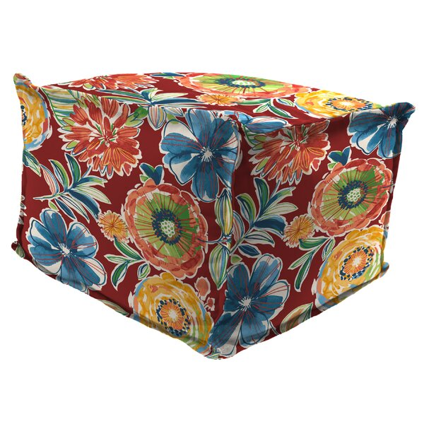 Brindley Outdoor Ottoman by Red Barrel Studio