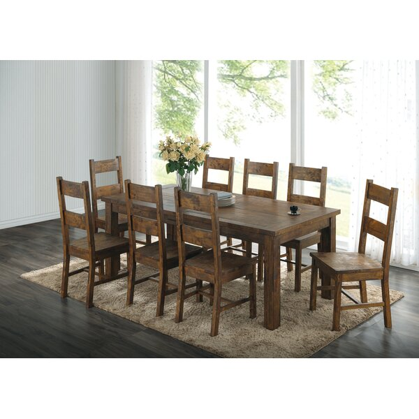 Willia 9 Piece Dining Set by Loon Peak Loon Peak