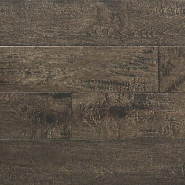 Random Width Engineered Maple Hardwood Flooring in Dark Forest by Somerset Floors